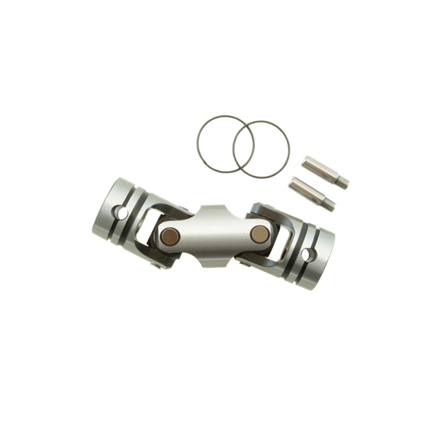 Double universal joint with hard treatment